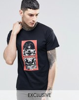 Reclaimed Vintage T-Shirt With The Ramones Print