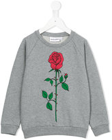 Mini Rodini Rose sweatshirt - kids - Organic Cotton - 7 yrs