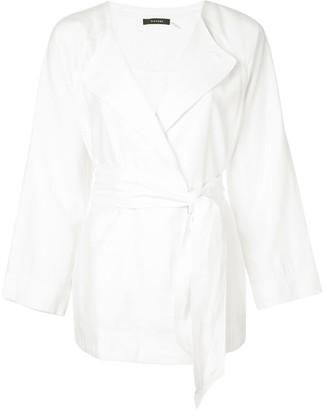 Natori Twill Belted Jacket