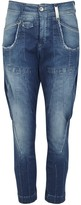 High Bronco Blue Cropped Jeans
