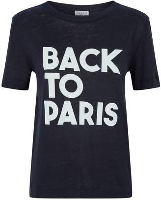 Claudie Pierlot Slogan T-Shirt