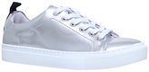 KG by Kurt Geiger Lava Peace and Love Trainers, Silver