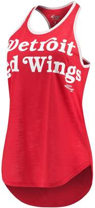 Game Time G Iii Women's G-III 4Her by Carl Banks Red Detroit Red Wings Tank Top