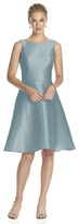 Alfred Sung D681 Bridesmaid Dress in MYSTIC