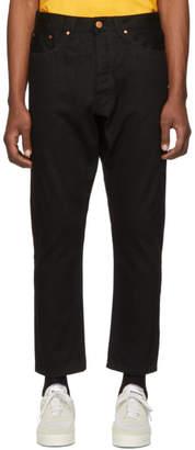 Han Kjobenhavn Black Selvedge Drop Jeans