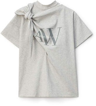 Collection TIE NECK LOGO TEE
