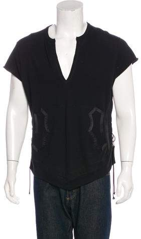 Number Nine Number (N)ine 2009 Silk-Trimmed Sweater Vest