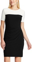 Chaps Women's Colorblock Sheath Dress