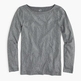 J.Crew Metallic long-sleeve painter T-shirt