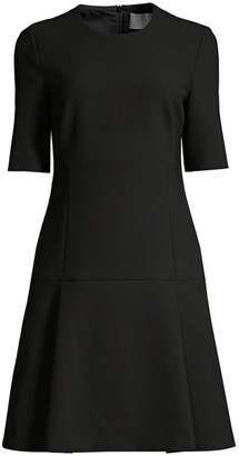 BOSS Dobella Ponte Flare Dress