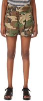 Marc Jacobs Cargo Camo Pocket Shorts