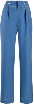 Lanvin high waist wide leg trousers