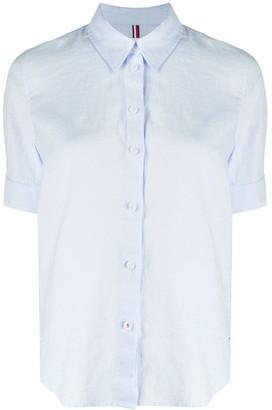 Tommy Hilfiger Plain Linen Shirt