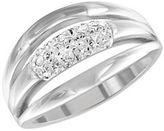 Swarovski Cypress Silvertone Ring - Size 7