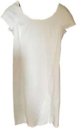 Armani Collezioni White Cotton Dresses