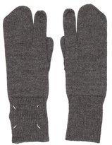 Maison Margiela Knit Wool Mittens