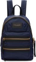 Marc Jacobs Navy Mini Biker Backpack