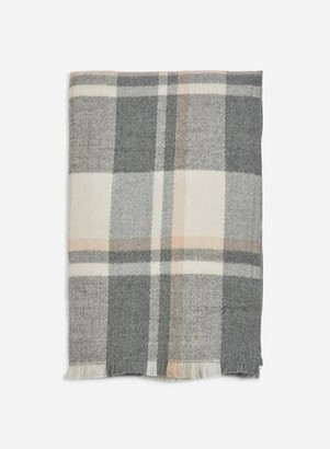 Dorothy Perkins Womens Multi Colour Checked Scarf