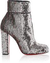 Christian Louboutin Women's Moulamax Pailette Ankle Boots