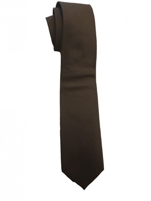 Gucci Black Cotton Ties