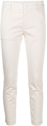 Dondup Cropped Slim Fit Trousers