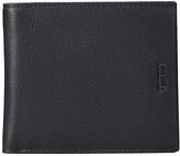 Tumi Nassau Global Center Flip Passcase Wallet (Black Textured) Wallet