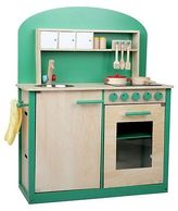 NEW Resort Living Greenie Wooden Play Kitchen