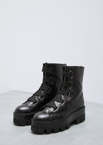 Ellery black sunny lace up boot