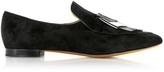 Proenza Schouler Black Suede Loafer