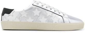 Saint Laurent Court classic star motif sneakers