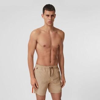 Burberry Contrast Side Stripe Drawcord Swim Shorts