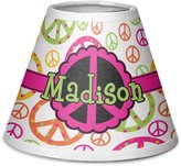 RNK Shops Peace Sign Chandelier Lamp Shade (Personalized)
