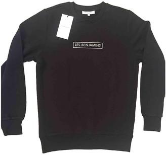 Les Benjamins Black Cotton Knitwear for Women
