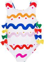 Stella McCartney printed one piece swimsuit