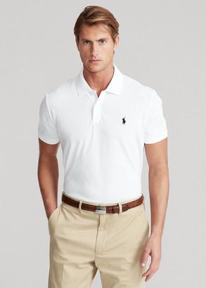 Ralph Lauren Custom Slim Stretch Mesh Polo