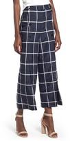 J.o.a. Women's Checkered Wide Leg Pants