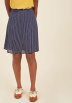 ModCloth Working Title A-Line Skirt in L