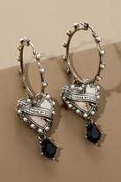 Alexander McQueen Heart earrings