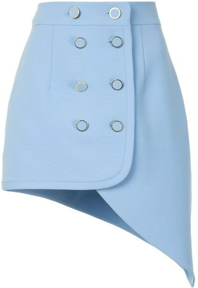 George Keburia Double-Breasted Skirt