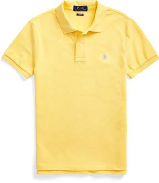 Ralph Lauren Slim Fit Cotton Mesh Polo