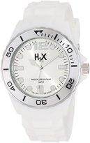 Haurex Italy Men's SW382UW1 Reef Luminous Water Resistant White Soft Rubber Watch