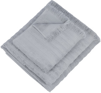 Global Explorer - Tassel Towel - Grey - Hand Towel