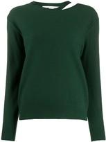 Stella McCartney split-neck boiled sweater