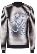 J.w.anderson Alien Striped Jumper