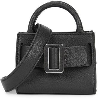 Boyy Bobby Soft black leather cross-body bag