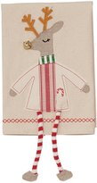Mud Pie Holiday Reindeer Hand Towel with Dangling Legs