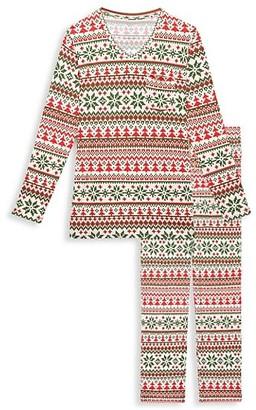 Posh Peanut Men's Nicholas 2-Piece Long-Sleeve Pajama Set