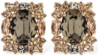 Anton Heunis Post Crystal Earrings