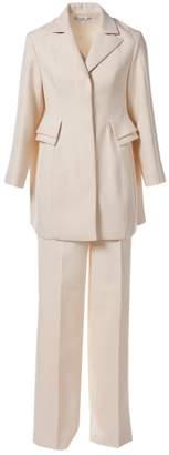 Christian Dior Ecru Wool Jackets