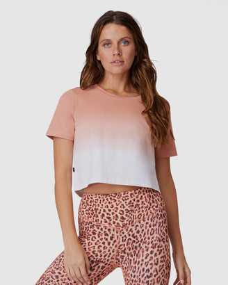L'urv Hidden Valley Crop Tee